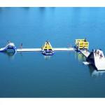 Zwemwater ombouwen tot een attractie met Aquaglide Inflatables