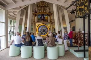 Astronomisch uurwerk van Museum Klok & Peel (Fotograaf Cor van de Ven)