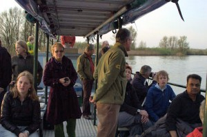 Vaarexcursie in de Biesbosch