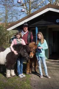 De pony's zijn sinds dit jaar weer terug bij (ponypark) Slagharen.
