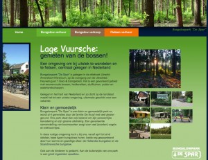 Fietsen in het bos, zijn duidelijk de verkoopredenen om in Lage Vuursche te verblijven, bij camping De Spar.