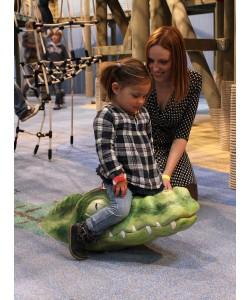 indoor speelvoorziening bij Burgers' Zoo