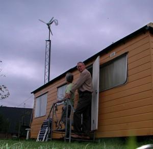 Duurzame caravan