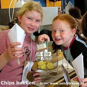 Chips bakken