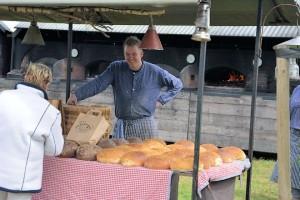 Ambachtelijke bakker op de Farm & Country Fair 2014