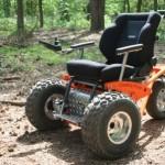Noviteit: de mountainbike onder de rolstoelen