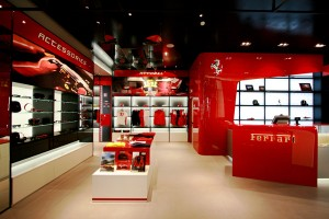 De Ferrari Store in Maranello