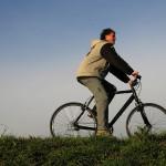 Bijna alle kampeerders fietsen op vakantie