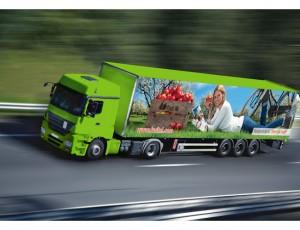 FruitNL vrachtwagen
