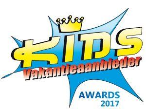 Kids Vakantieaanbieder van het Jaar Awards Logo 2017