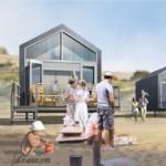 Strandhuisjes worden steeds groter en luxer bij Landal