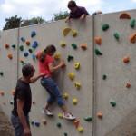 De Luchtballon, vakanties voor kinderen met een beperking, opent nieuwe klimwand