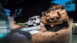 Jeeps in decor
