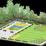 Velopa's visie op een multifunctionele sportieve speelplek