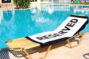 Picture Reserved-Towel