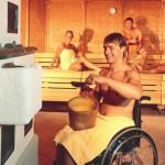 6 op de 10 sauna's in Nederland niet rolstoelvriendelijk