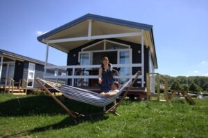 Strandhuisje Eiland van Maurik
