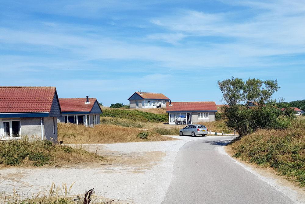 Vakantiepark in de zomer: Landal Sluftervallei op Texel (foto: Parkvakanties)