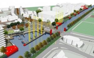 Visualisatie Waterfront Weert