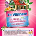 Sunil geeft een Landal bungalow weg