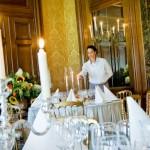 Gedekte tafel in paleis Het Loo