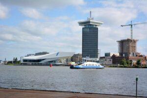 Volop ontwikkeling in Amsterdam-Noord; ook t.b.v. toerisme