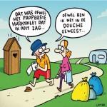 Nederlandse kampeerders vinden hygiene het belangrijkst