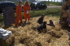 Hooispel bij Farm Camps