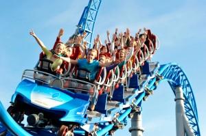 Rollercoaster Bluefire in Europa Park