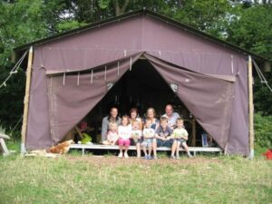 boerenbed 10 pwersoons tent