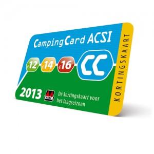 de populaire ACSI Camping Card