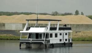 Drijvend recreatieverblijf Comfortparc Wessem (Maasplassen)