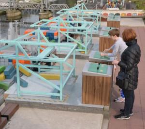 interactief aan de slag met een containerterminal in de Rotterdamse haven