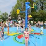 Eerste spraypark geopend bij De Papillon