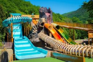 nieuwe attractie Dino Splash in Plopsa Coo