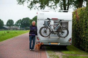 De hond mag overal mee