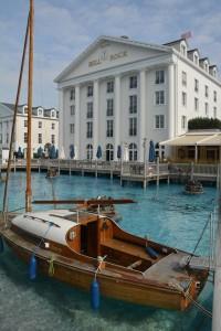 hotel in een attractiepark (Bell Rock, EuropaPark)