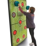Interactieve fitnessmuur – spelenderwijs fit worden