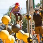 Freerunning als sportief alternatief voor speeltuin