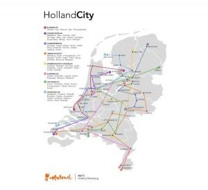 De HollandCity aanpak van het NBTC