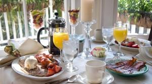 hotel ontbijtje