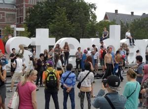 I Amsterdam, apenrots
