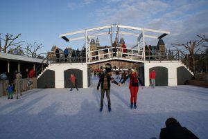 Ice Amsterdam op het museumplein