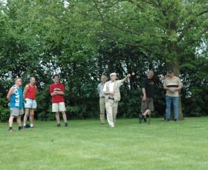 Volkssport Kaaibakken (Groningen) beoefend door toeristen én inwoners