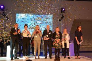 De landelijke winnaars: Efteling, Blijdorp en Gaia Zoo nemen het applaus in ontvangst
