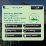 Natura 2000 app biedt extra natuurbeleving