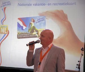 Presentatie 'Lekker weg in eigen land' in 2012