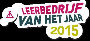 logo verkiezing leerbedrijf van het jaar 2015
