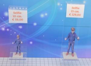 Een selfie laten maken in 3D