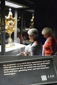 Museumstuk 'De monstrans'in Catharijneconvent is beroemd geworden door de spectaculaire diefstal in 2013.